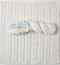 Sunseeker by Cascade Yarns - a FREE block pattern and yarn review from Love of Crochet magazine
