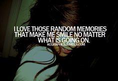 Random memories