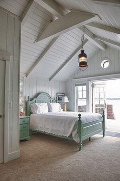 Beach Cottage beach style bedroom