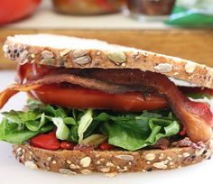 Greek BLT Sandwich