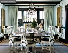 dining room  from houseofturquoise.com