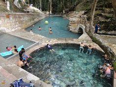Honduras - Hot water pools in Gracias Lempira near Celaque / suchitoto.tours @gmail.com