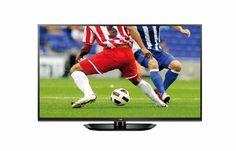 LG 60PN6504 152 cm (60 Zoll) Plasma-Fernseher, EEK B (Full HD, 600Hz CMI, DVB-T/C/S, HDMI, USB 2.0)