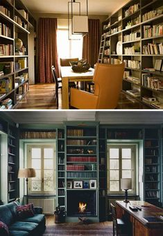 small space home libraries