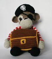 Aaarh!  Pirate Monkey!