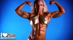 Wow! Hot new video of muscle babe Jill Rudison on www.ilovefemalemuscle.com!