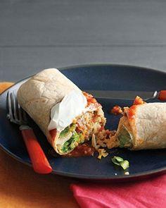 Bean and Cheese Burritos Recipe