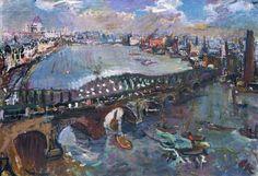 Waterloo Bridge 1926 - Oscar Kokoschka