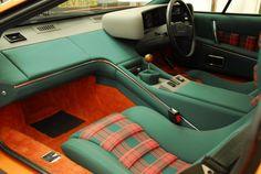 Lotus Tartan Interior