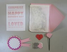 Mother's Day in an Envelope - made to order