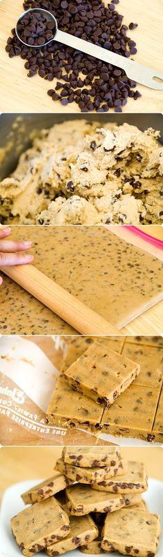 Espresso Chocolate Chip Shortbread Cookies