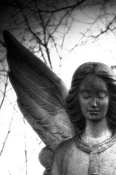 Beautiful Angel,  Mt Hope Cemetery, Lansing Michigan