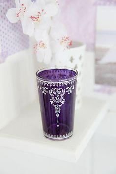 Pretty purple cup