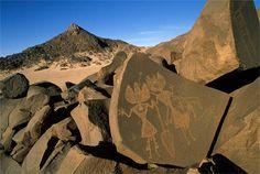 Petroglyphs, Aïr Mountains Mountains, Niger, 1999