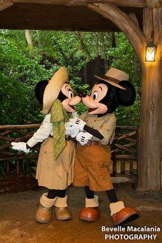 Animal Kingdom ~ Mickey Minnie