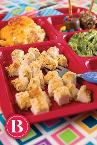 potato chip, paula dean, kids friendly meals, chicken recip, chip crust, kid friendly meals, meals for kids, crust chicken, paula deen