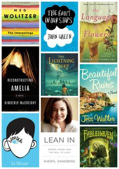 Summer book list