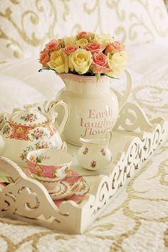 Lovely tea tray