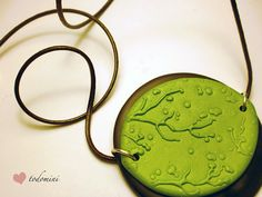 Two piece pendant with image