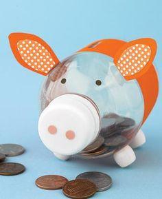 Piggy bank craft