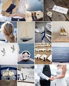 Dear Evie inspiration board 28 #wedding #inspiration #nautical #navy #blue