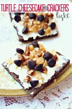 3 WW Points Turtle Cheesecake Crackers