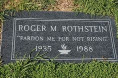 Funny Gravestone by yausser, via Flickr