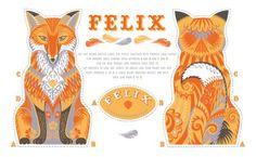 Felix tea towel kit