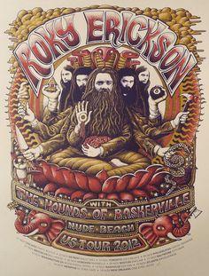 Rocky Erickson US Tour 2012