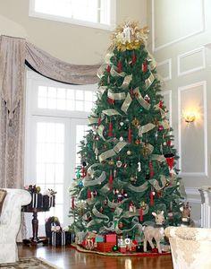home tours, wainscot pattern, christma decor, christma tree, high ceilings, christma fun, chrismass tree, tree holiday, christmas trees