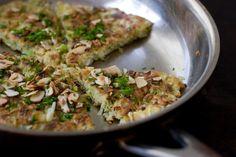 Japanese Pizza (Okonomiyaki), from 101 Cookbooks