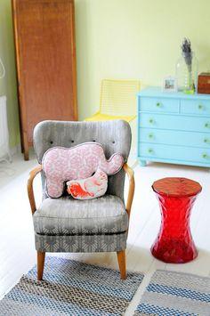 That Elephant Pillow :)