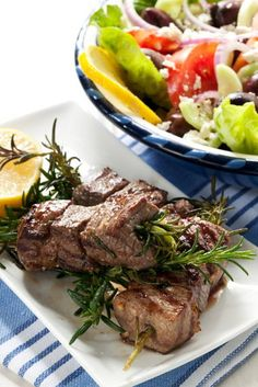 "Use ""Barbecue"" rosemary (produces strong, straight shoots) as skewers when grilling lamb, beef or chicken."