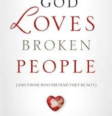 New Release: God Loves Broken People by Sheila Walsh