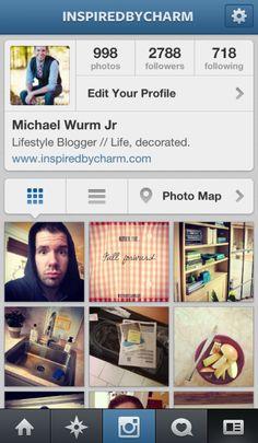 My favorite form of social media! (no offense Pinterest) Come say hi or follow along! @inspiredbycharm  - loving Instagram!