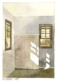 Corner Windows by Don Gore (dgdraws), via Flickr