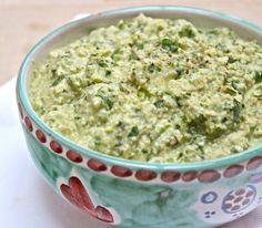 Creamy spinach and artichokedip - gluten free/dairy free