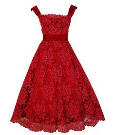 Dress Harvey Berin, 1950s Timeless Vixen Vintage - OMG that dress!