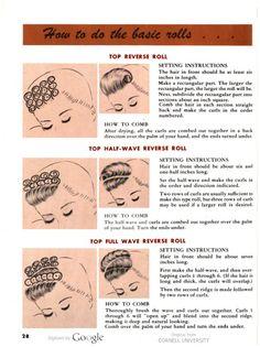 How to do basic rolls