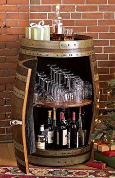 barrel bar...love love love