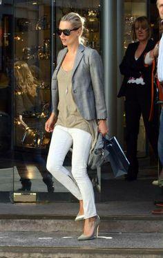 .green jacket denim shirt beige tjmax shirt white jeans nude flats