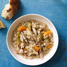 Chicken and Barley Stew #myplate #chicken #vegetables #grains