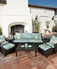 Take a look at this Bliss Sofa Eight-Piece Set by RST OUTDOOR on #zulily today!