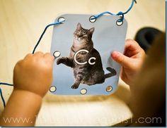 C is for Cat, theme unit for tots/preschoolers
