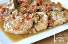 CROCK POT: Smothered Pork Chops