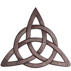 Trinity Knot ~   I believe in the trinity~      The Celtic symbol for Trinity may also pertain to the three Bridgits. Bridgit is one powerful goddess (aspect of Danu), who embodies three aspects which are: Art Healing Metalsmithing The circle often seen around the triquetra signifies the infinite and eternity. It also represents protection. Circles are often drawn around Celtic knots to represent spiritual unity with the devine - a connection that shall cannot be broken.
