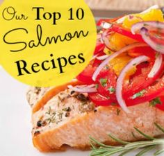 10 salmon recipes you'll LOVE! | via @SparkPeople #food #dinner #seafood #fish