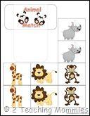 Free Zoo Preschool Printables!