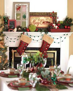 http://celebrationsathomeblog.com/2011/12/rustic-woodland-christmas-tabletop.html