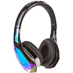 Brauch ich dringend: Monster Diamond Tears Edge On-Ear Headphones (Black)